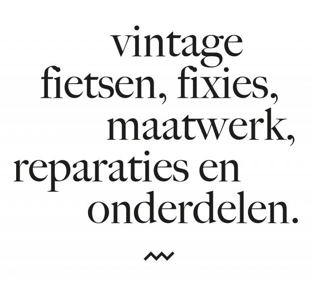 vintage fietsen, fixies, maatwerk, reparaties en onderdelen
