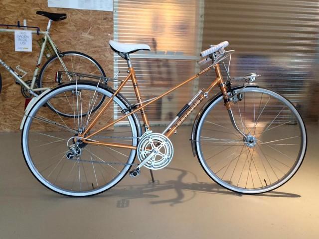 Maatwerk fiets André — Velo d'Anvers vintage fietsen, fixies, maatwerk, reparaties en onderdelen