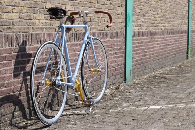 Maatwerk fixie fiets Rieneke Velo d'Anvers